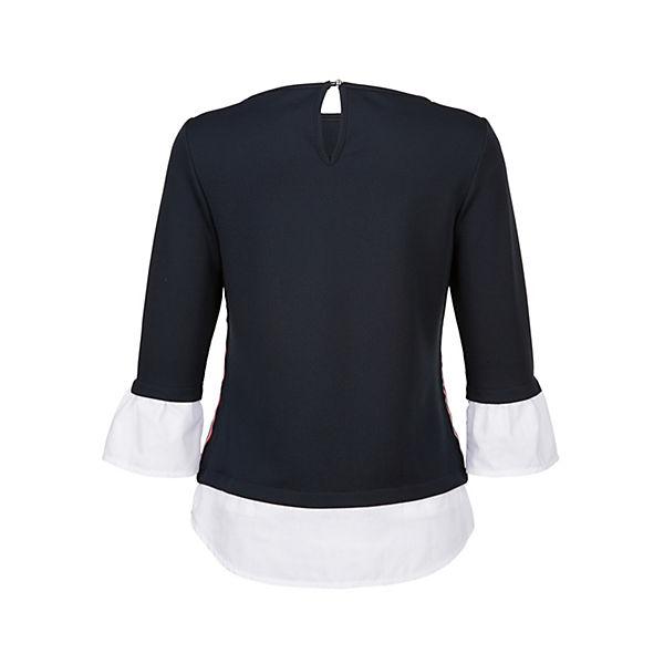 Moda Blau Shirt weiß Moda Alba Alba CQxWrdBoe