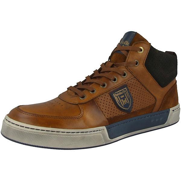 Sneakers Braun Pantofola Frederico Uomo Mid D'oro Schuhe High deCQrBxWo