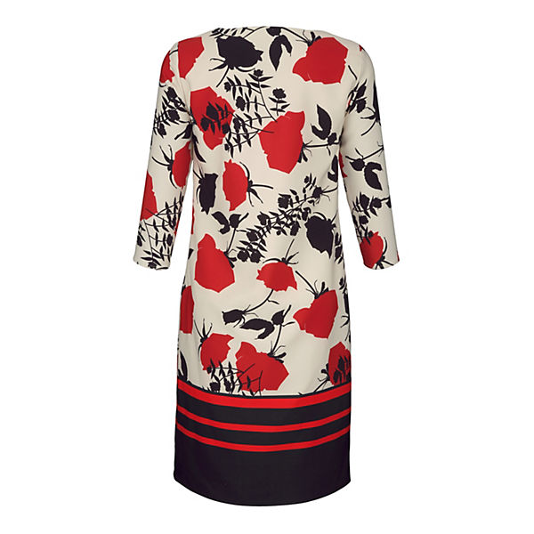 Kleid Rot kombi Moda Alba Alba Moda Rot Kleid ARj35qc4L