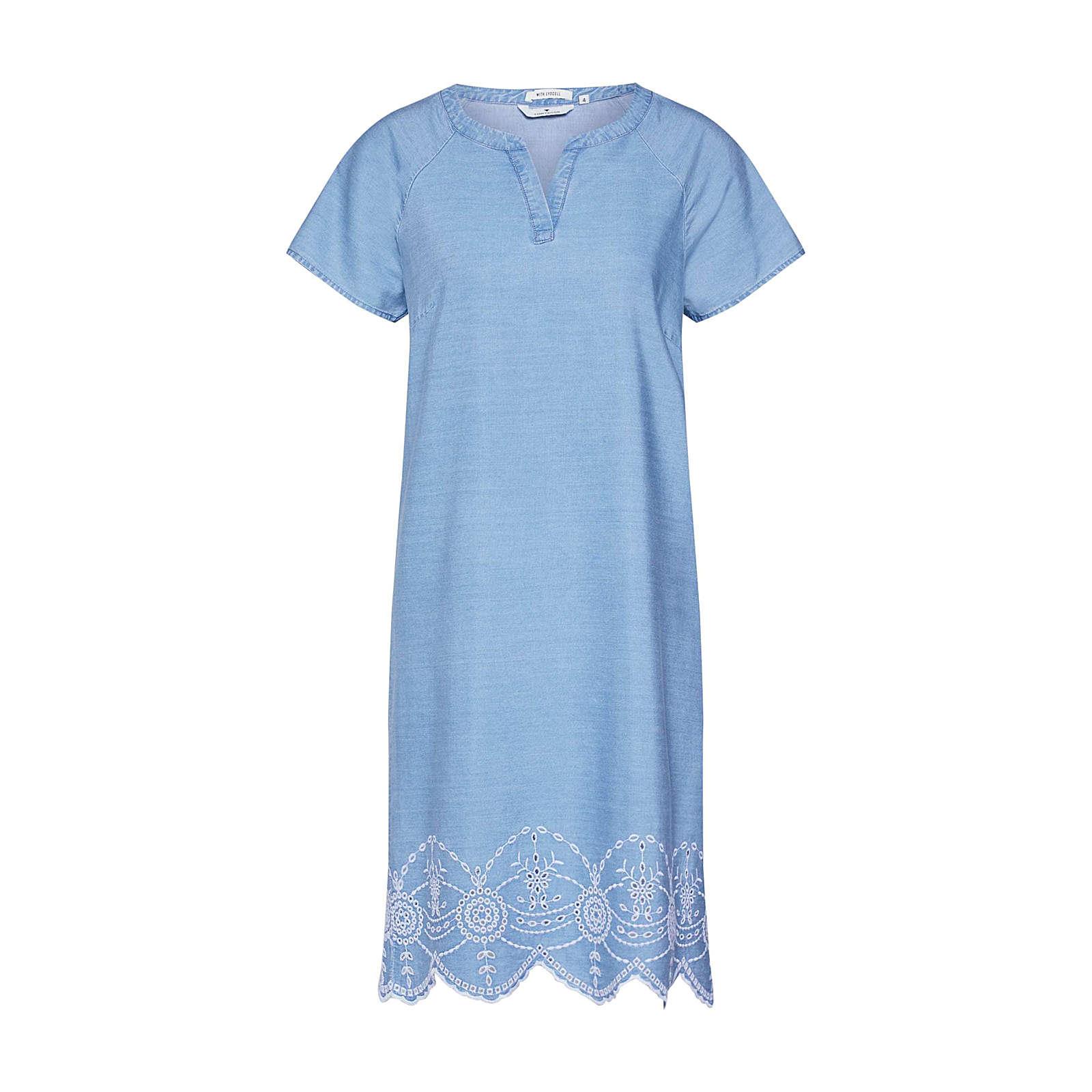 TOM TAILOR Kleid Jeanskleider blue denim Damen Gr. 44