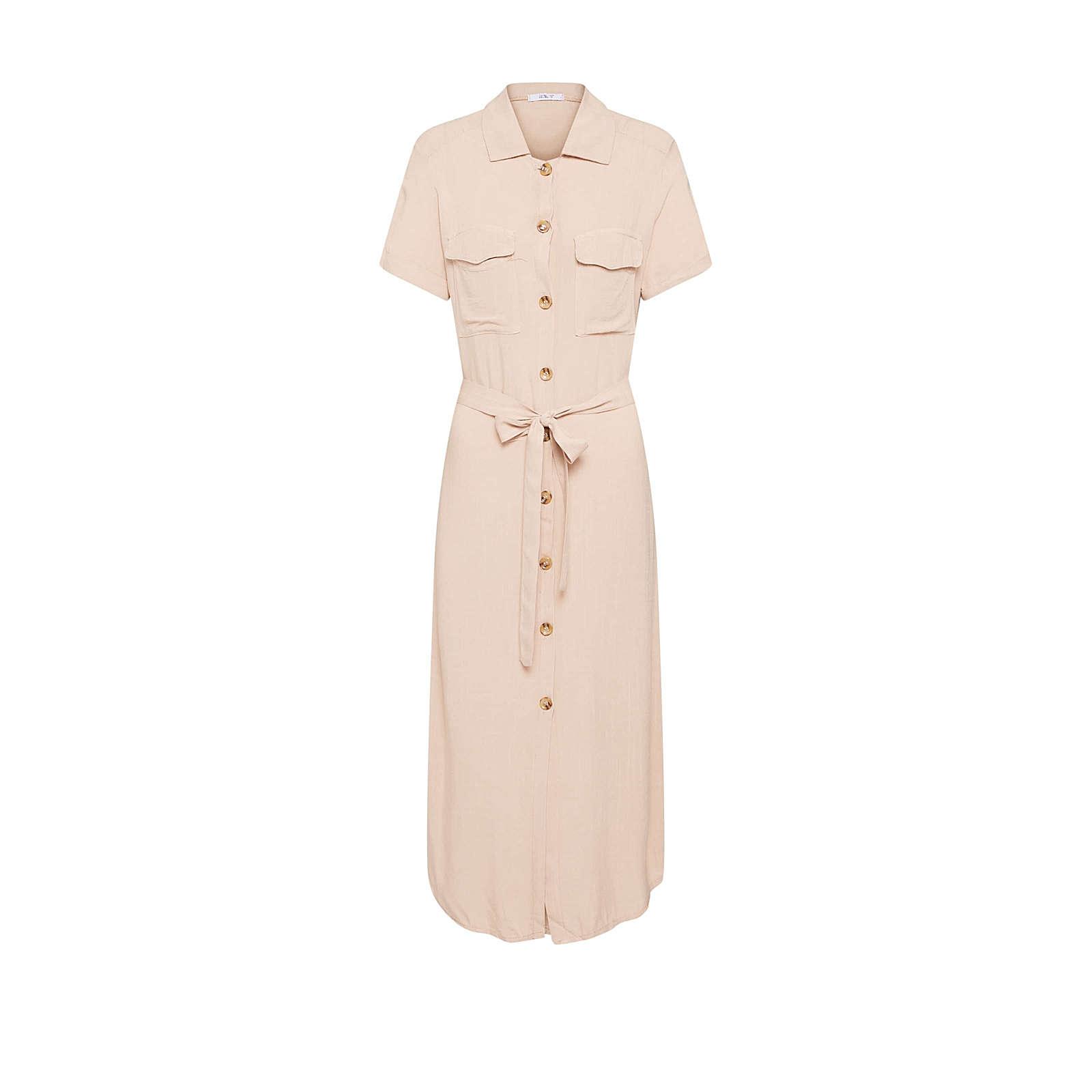 Hailys Blusenkleid Aurelie Blusenkleider beige Damen Gr. 36
