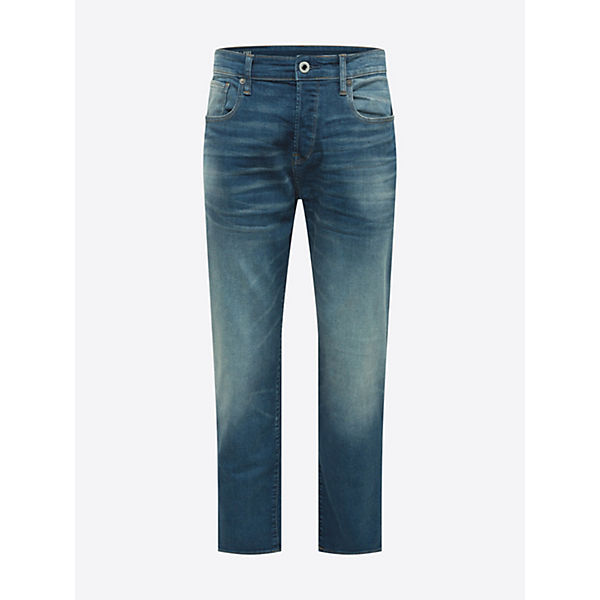 Jeans Raw Loose Jeanshosen G Blue Denim 3301 star HIEY92WD