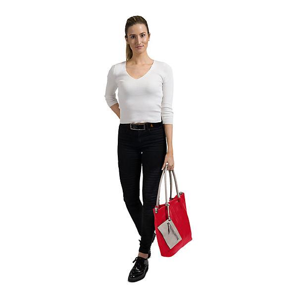 In Emilyamp; kombi Noah Shopper Bag Rot No 5 Surprise WYE9IDH2