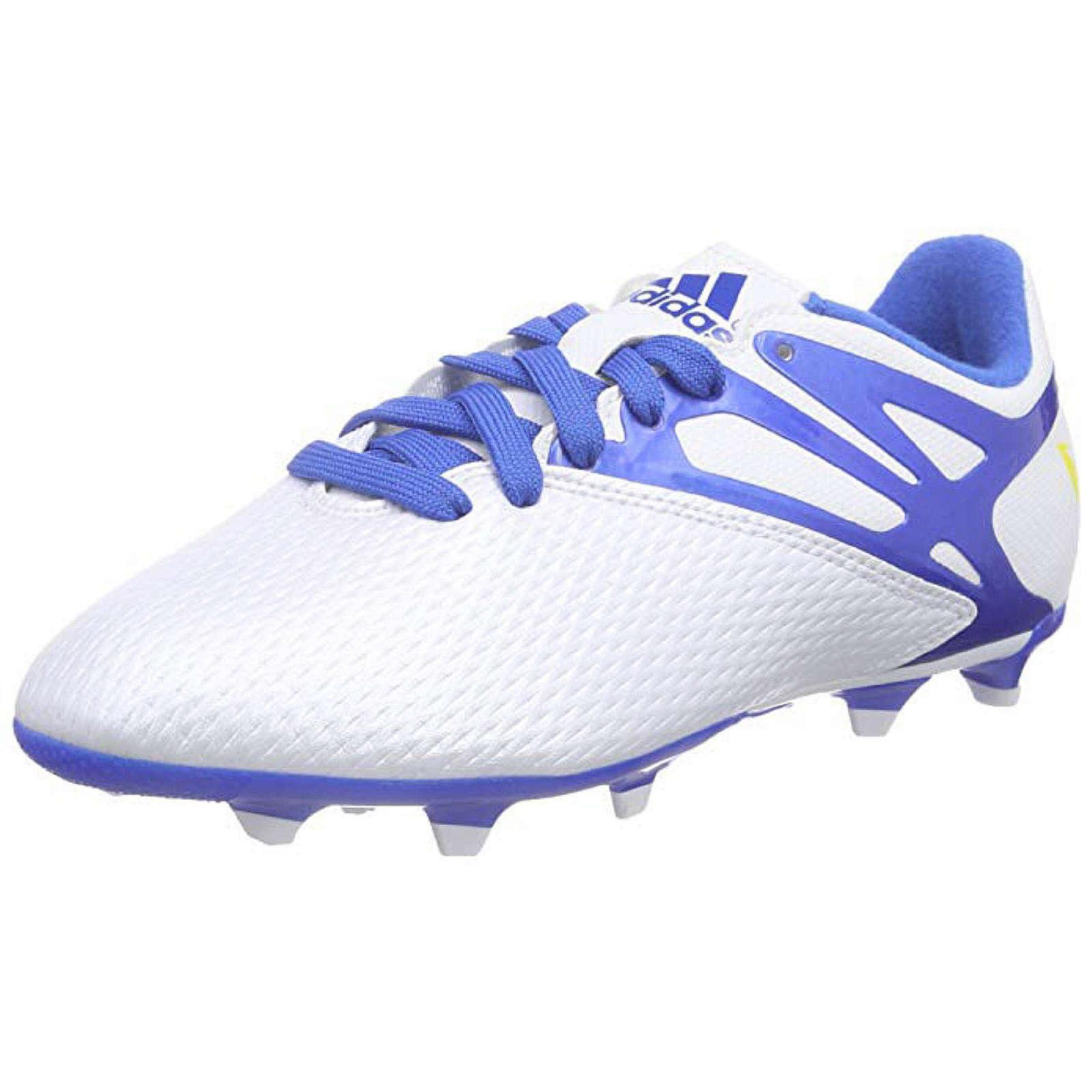 Adidas NEO Fußballschuh Messi 15.3 FG/AG Junior Fußballschuhe für Kinder weiß Gr. 15,5