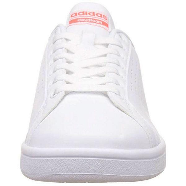 Neo Adva Low Cloudfoam Sneakers Sneaker Weiß Herren Adidas c3S4Aq5RjL