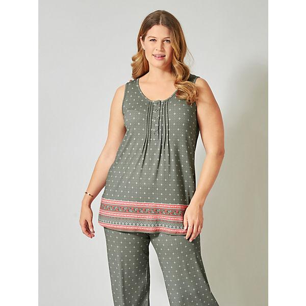 print Allover Janetamp; Khaki top Mit Joyce Jersey 8nXPNkwO0