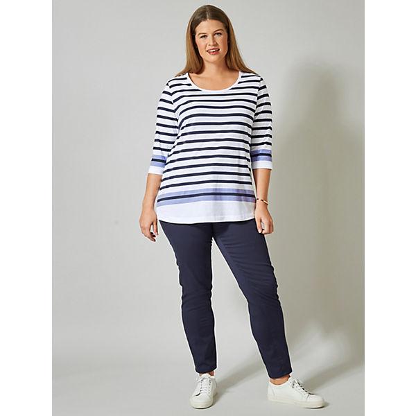 Janetamp; Shirt Offwhite Shirt Shirt Joyce Janetamp; Gestreift Gestreift Joyce Offwhite Janetamp; Joyce b6Y7gfy