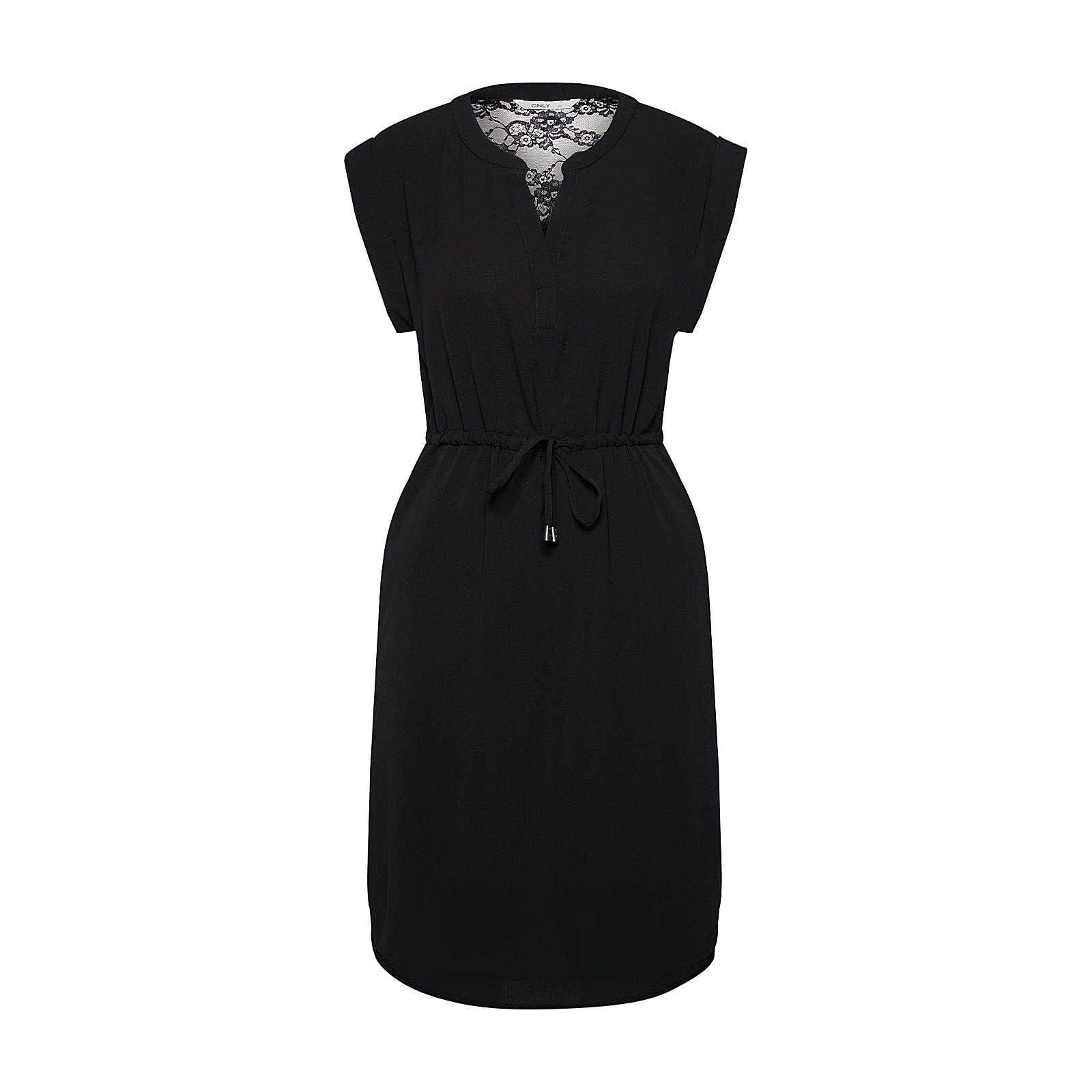 ONLY Sommerkleid Sommerkleider schwarz Damen Gr. 42