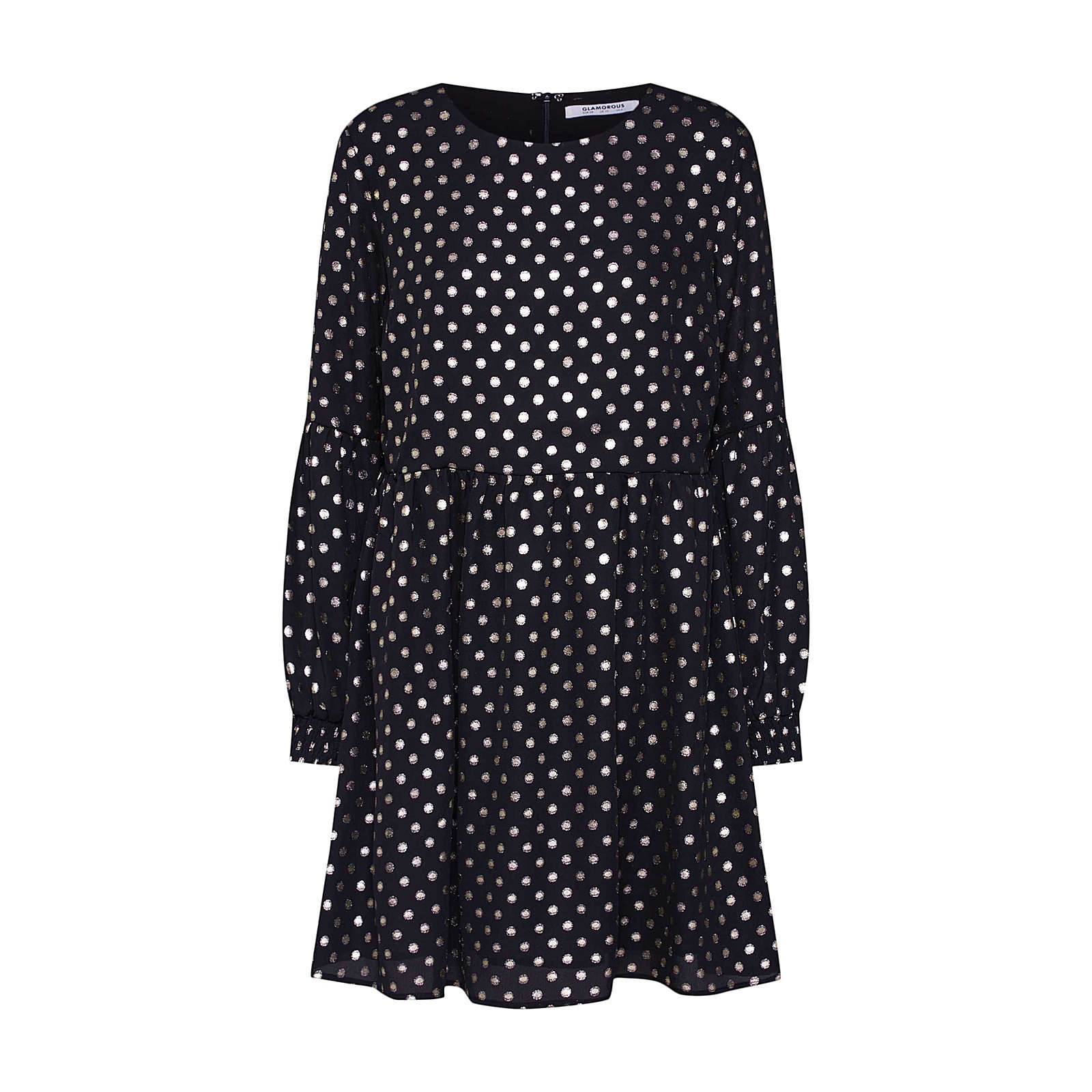 GLAMOROUS Sommerkleid Sommerkleider schwarz Damen Gr. 34