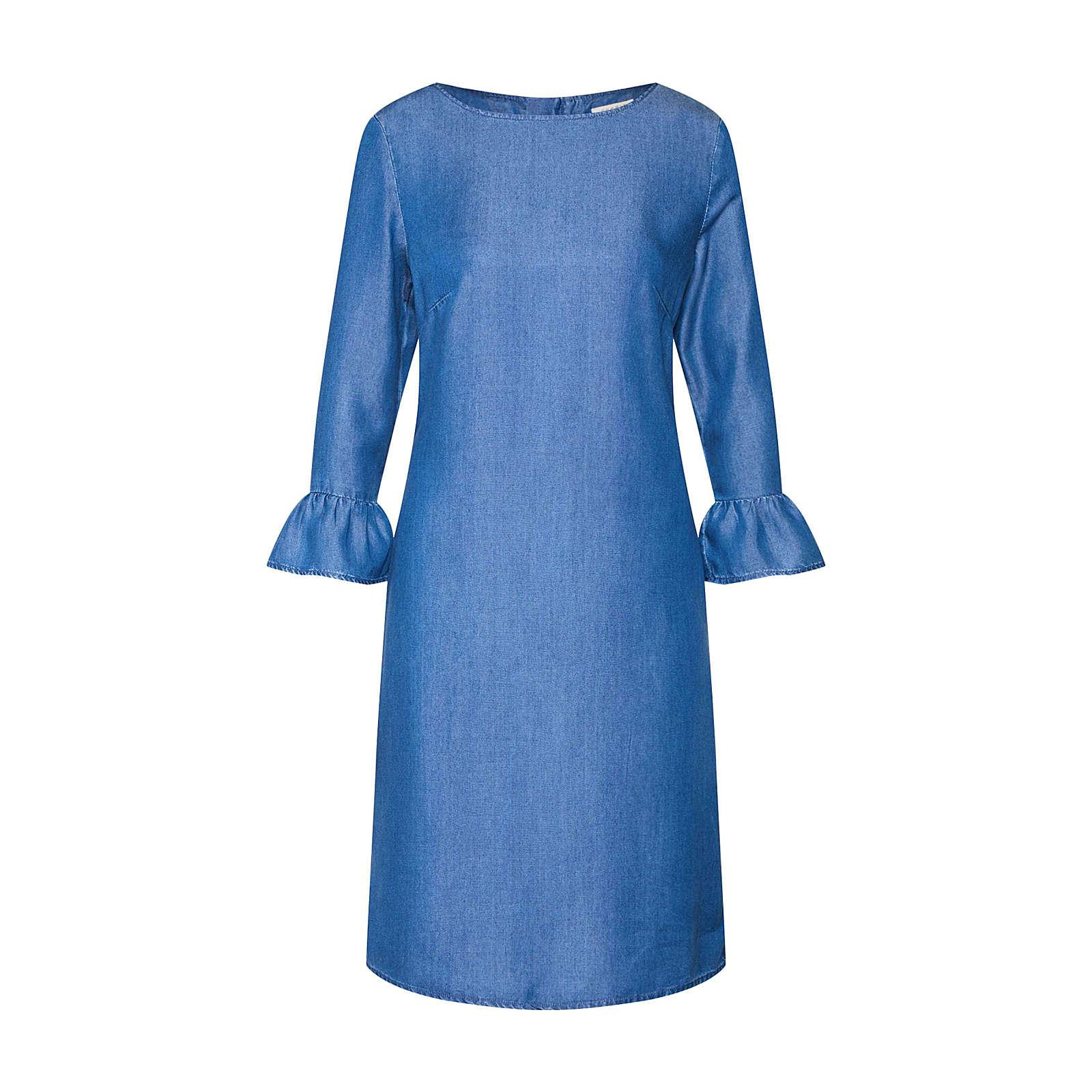 ESPRIT Kleid Jeanskleider blue denim Damen Gr. 38