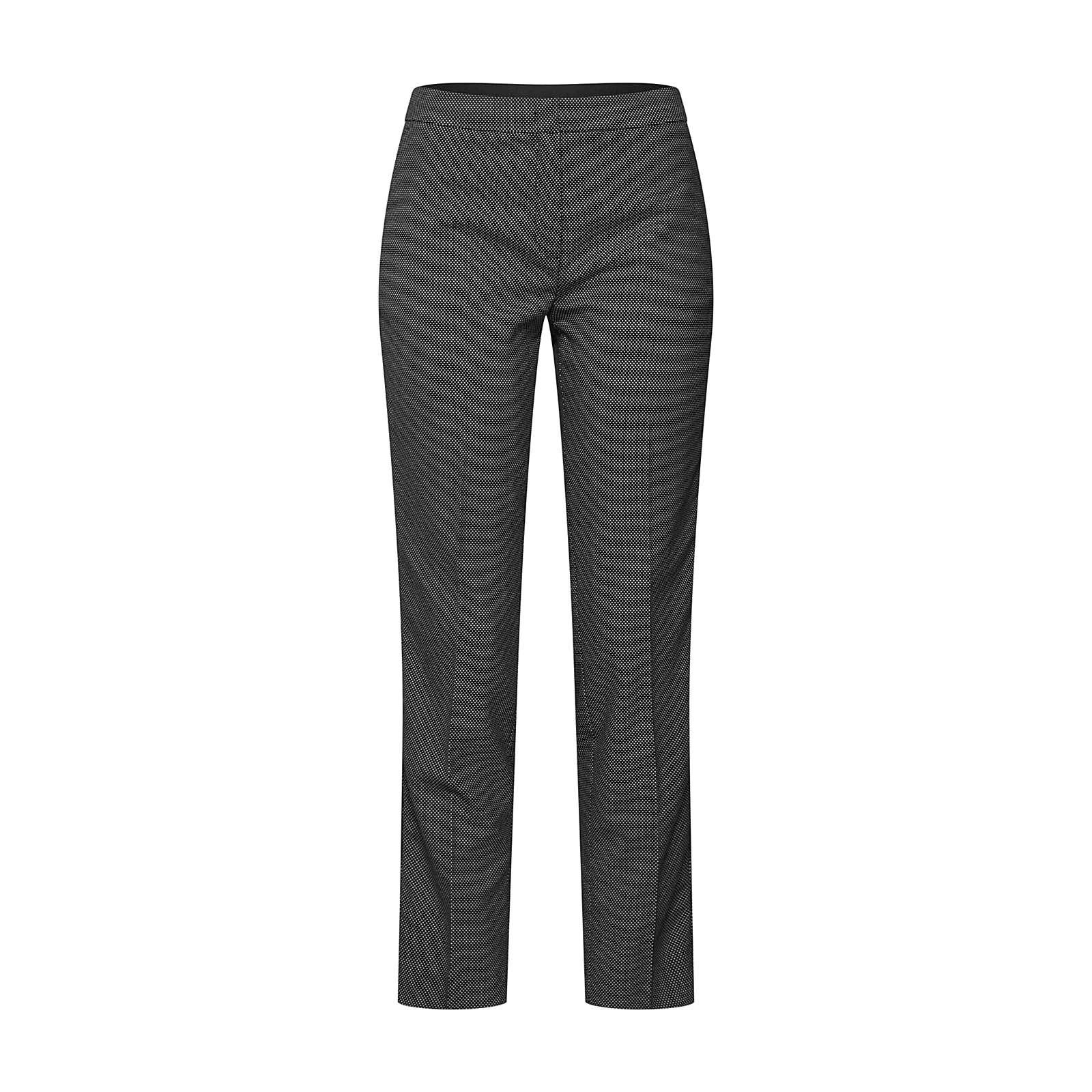 MORE & MORE Bügelfaltenhose 3/4-Hosen schwarz Damen Gr. 52