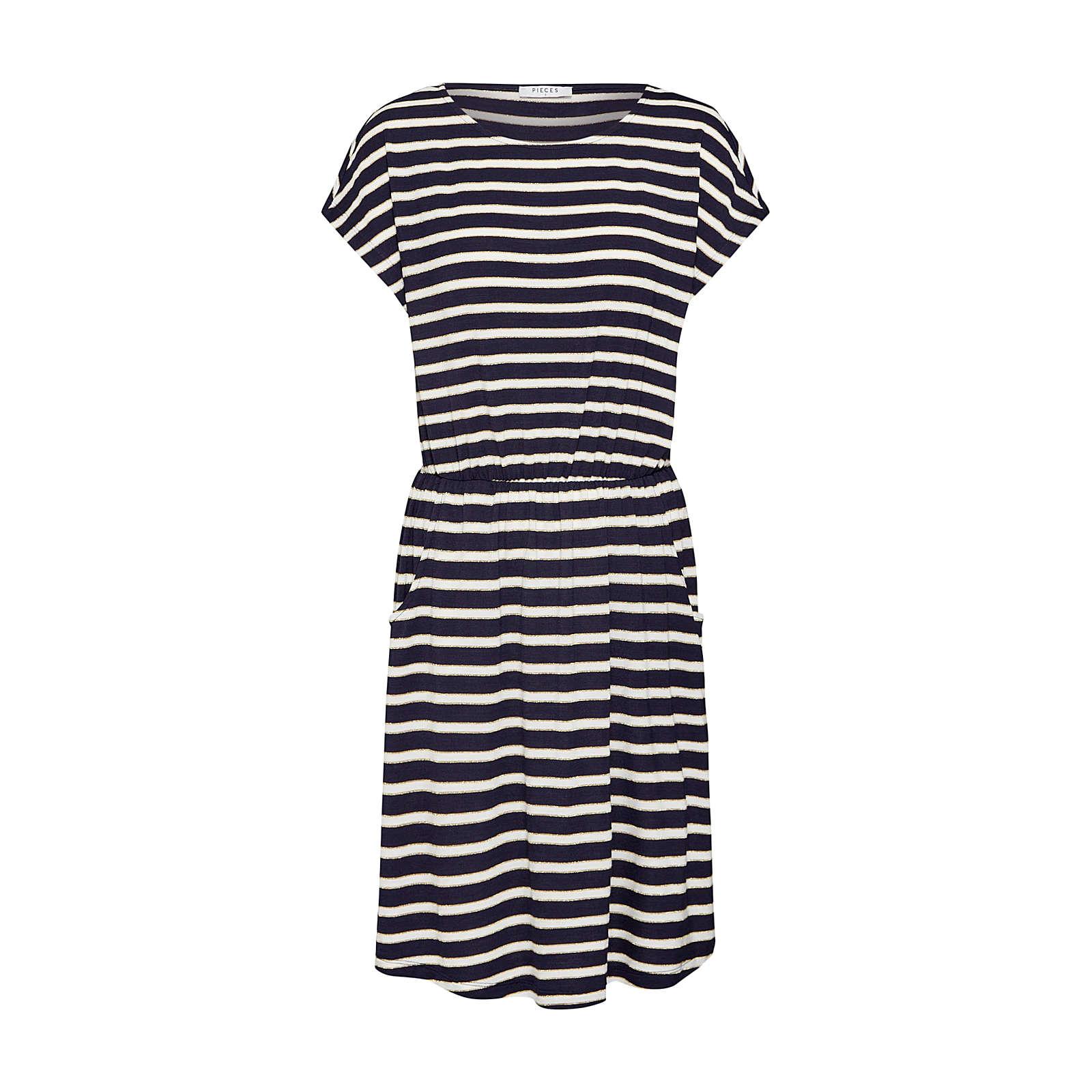 PIECES Sommerkleid Sommerkleider blau Damen Gr. 38