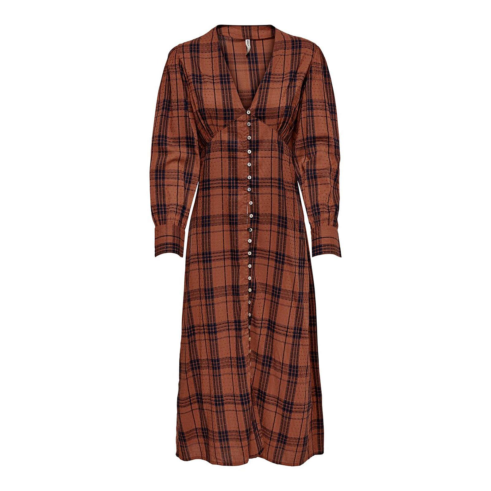 ONLY Blusenkleid Kenya Blusenkleider schwarz Damen Gr. 42