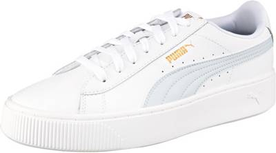 PUMA, Vikky Stacked L Sneakers Low, weiß Modell 1 | mirapodo