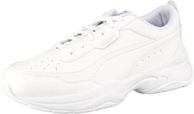 PUMA, Cilia Mode Sneakers Low, weiß