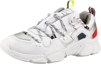TOMMY HILFIGER, Wmns Billy 6c Sneakers Low, weiß