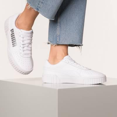 PUMA, Cali Wn's Sneakers Low, weiß | mirapodo