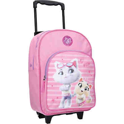 Trolleyrucksack 44 Cats pink