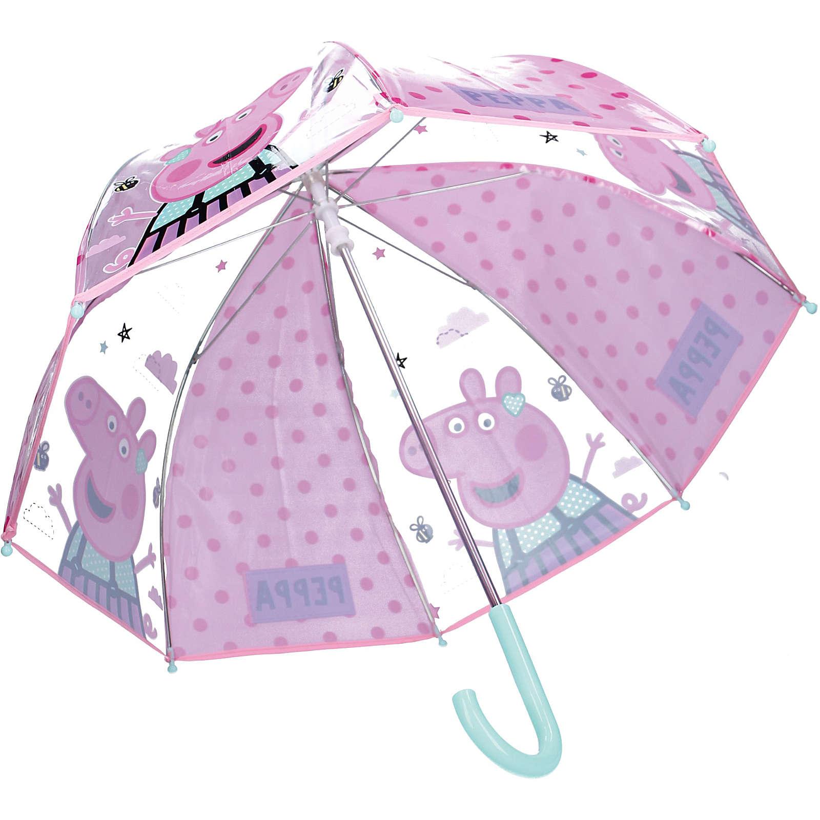 VADOBAG Kinderschirm Peppa Pig rosa Mädchen