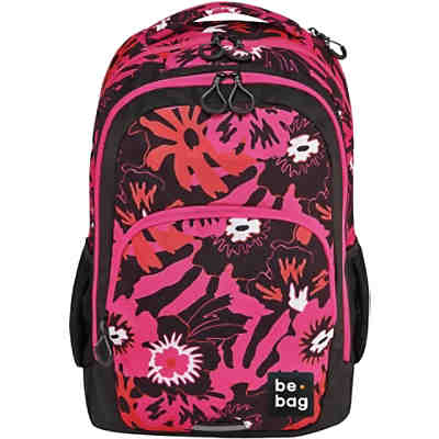 Schulrucksack be.bag be.ready pink summer (Kollektion 2019/2020)