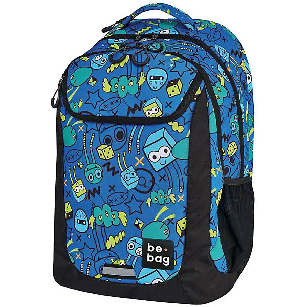 Schulrucksack be.bag be.active monster party (2020/2021)