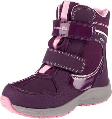 GEOX, Winterstiefel NEW ALASKA für Mädchen, Waterproof, gefüttert, violett