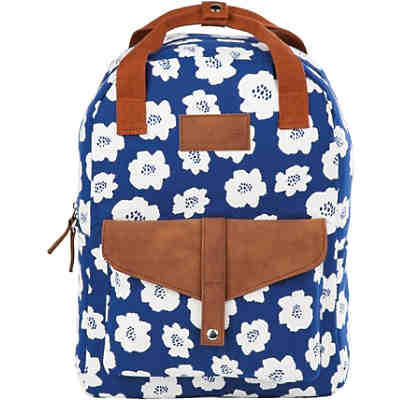 BACK UP Freizeitrucksack Model CA White Flowers, 20 l