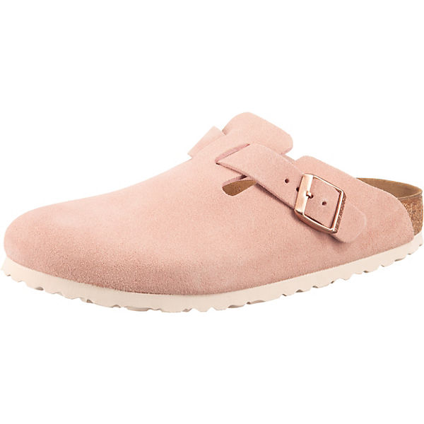 Boston Veloursleder Schmal Veloursleder Clogs schmal