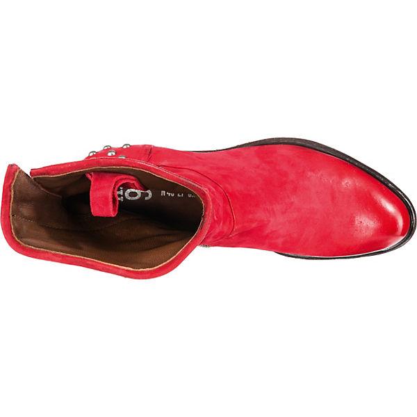A.S.98  Klassische Stiefeletten  rot WQ4U5