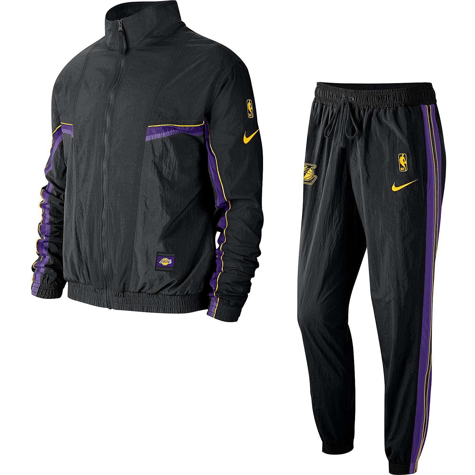 buy popular 48cfa 927da Nike Performance Trainingsanzug Los Angeles Lakers Trainingsanzüge schwarz  Herren Gr. 48