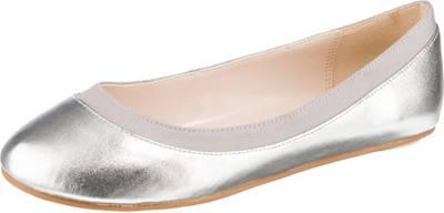 BUFFALO, Klassische Ballerinas, silber