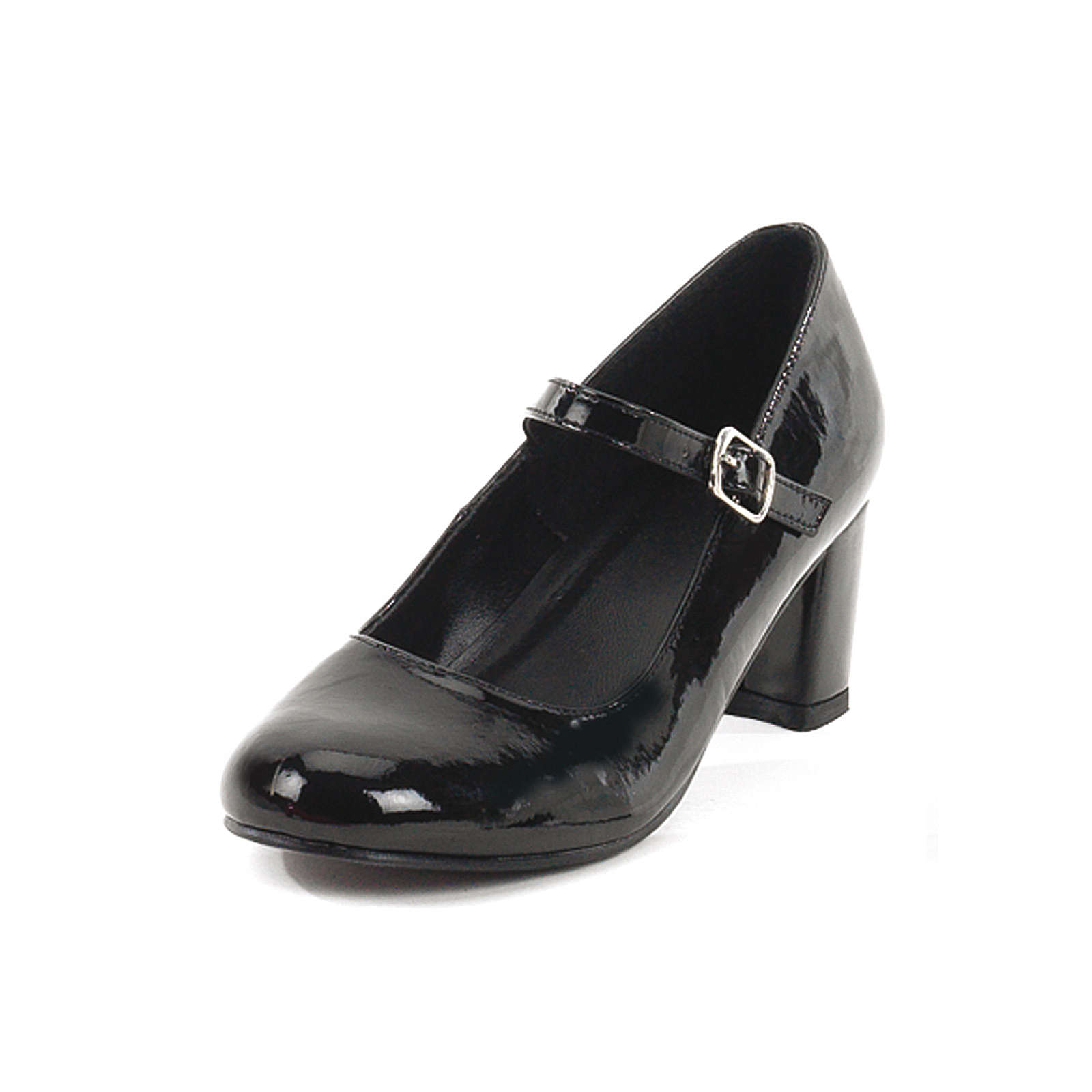 FUNTASMA® Kostümschuhe Schuluniform Schoolgirl Klassische Halbschuhe schwarz Modell 1 Damen Gr. 36