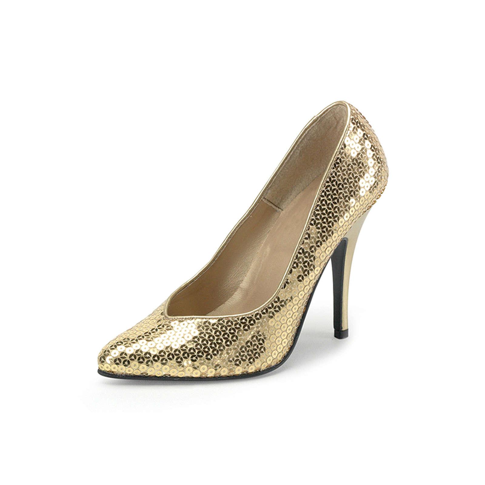 FUNTASMA® Kostümschuhe Seduce Klassische Pumps gold Damen Gr. 41,5