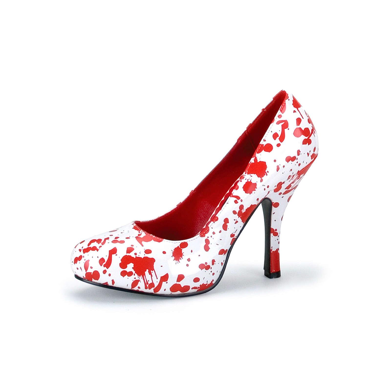 FUNTASMA® Kostümschuhe Krankenschwester Bloody Klassische Pumps weiß Damen Gr. 37