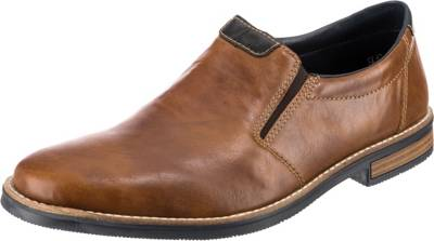 rieker, Business Slipper, cognac