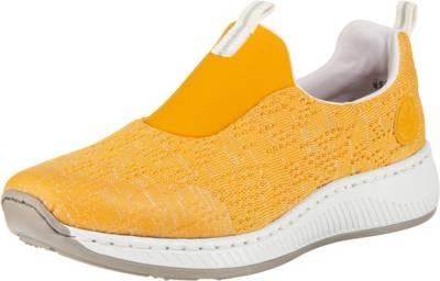 rieker, Slip On Sneaker, gelb | mirapodo aVbWW