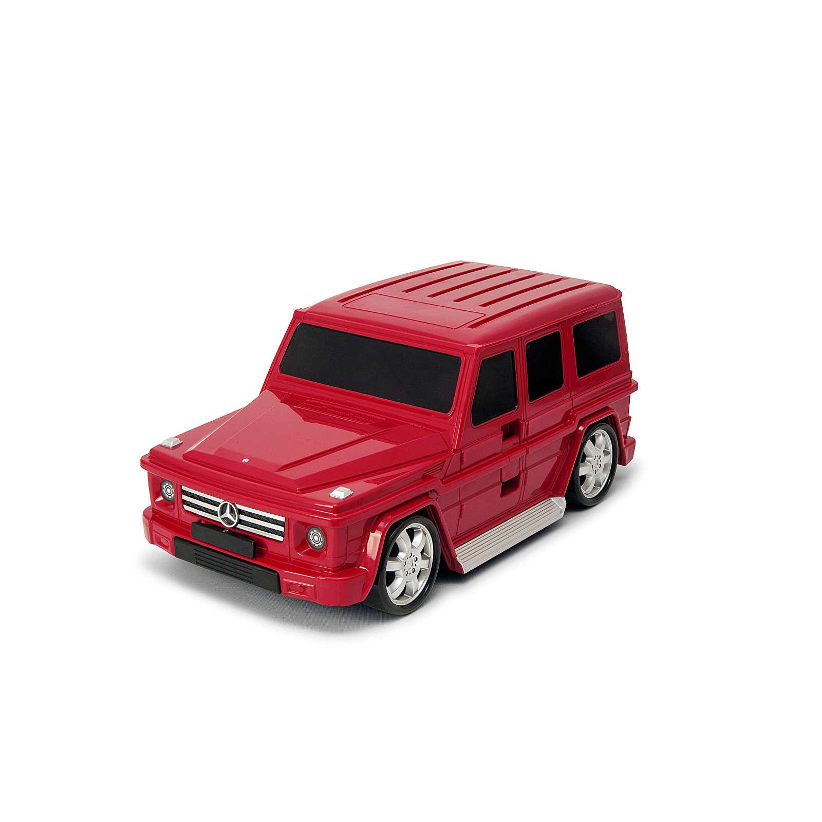 Packenger Kinderkoffer Kinderauto Kindertrolley G63 rot