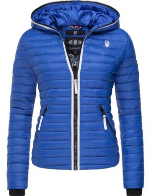 Nike Damen Jacke Übergang Frühling schwarz leicht Steppjacke