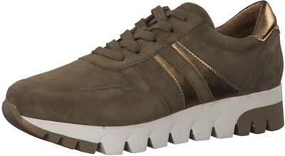 Tamaris, Sneakers Low, khaki