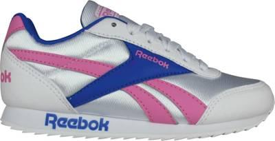 Reebok, Sneakers Low ROYAL CLJOG 2 für Mädchen, weiß | mirapodo