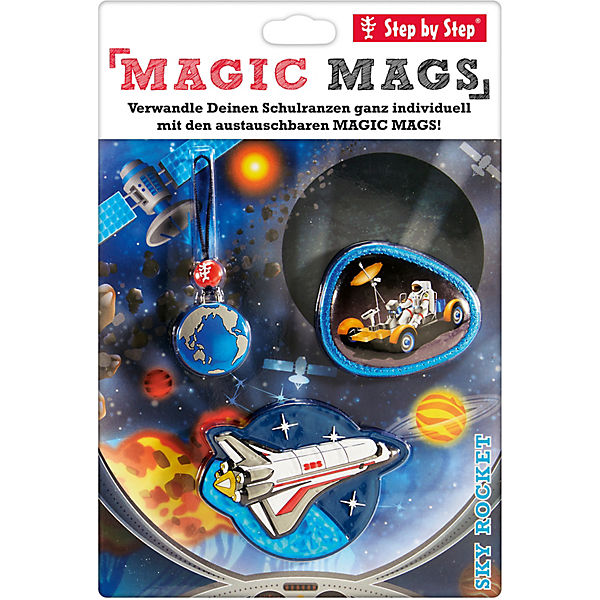 Step by Step 183808 MAGIC MAGS Sky Rocket, 3-tlg.
