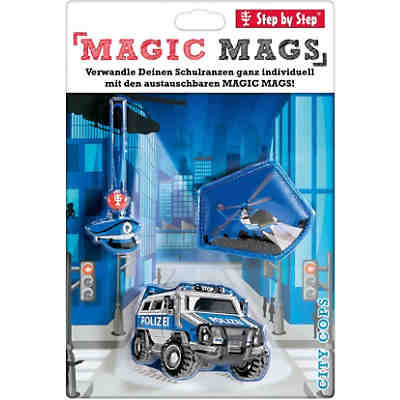 Step by Step 183809 MAGIC MAGS City Cops, 3-tlg.