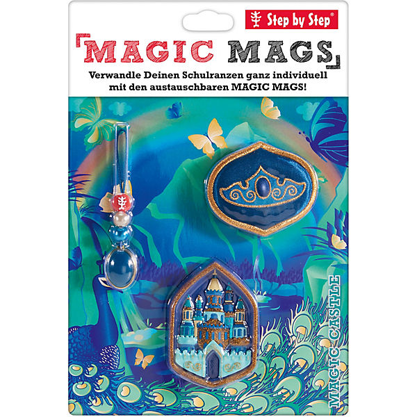 Step by Step 183806 MAGIC MAGS Magic Castle, 3-tlg.