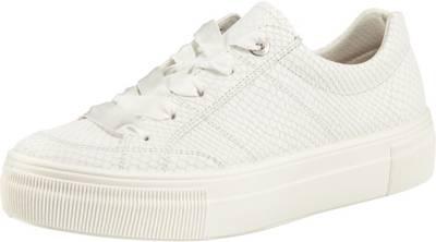 legero, Lima Sneakers Low, weiß