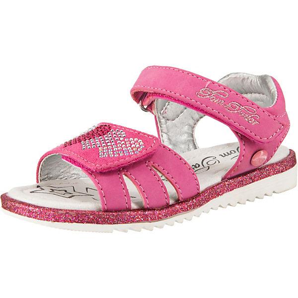 Gutes Angebot TOM TAILOR Sandalen für Mädchen mit Herzen pink