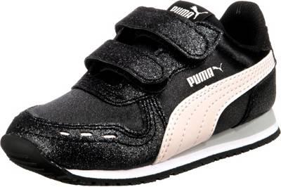 PUMA Cabana Racer Glitz V Inf Sneaker Schuhe Baby Mädchen