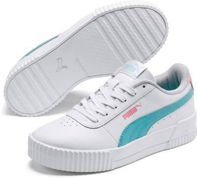 PUMA, Sneakers Carina L Jr für Kinder, weiß