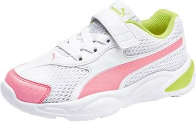 PUMA, Sneakers 90s Runner Mesh AC PS für Mädchen, mehrfarbig