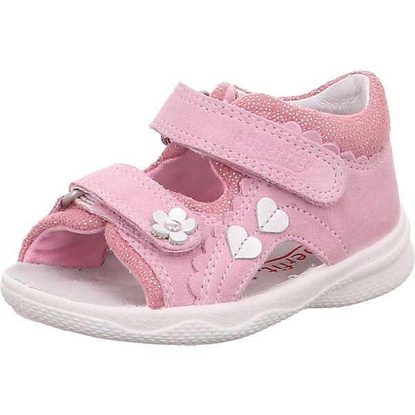 Gutes Angebot superfit Baby Sandalen POLLY für Mädchen WMS-Weite M4 rosa