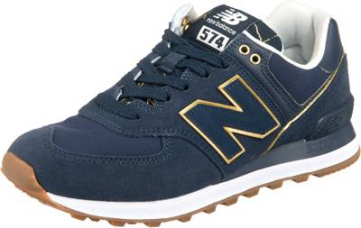 new balance, Wl574soc Sneakers Low, dunkelblau